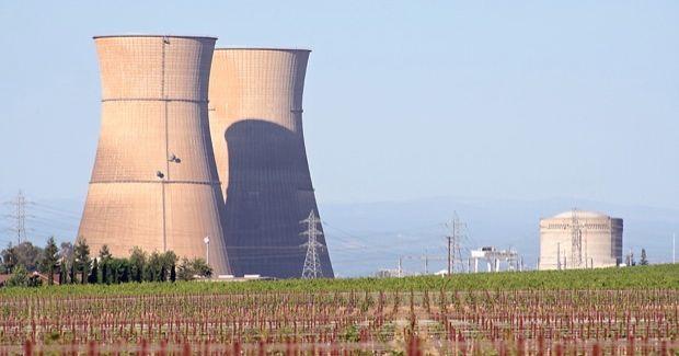 This is the Rancho Seco nuclear power plant near Galt, California.