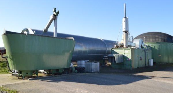 Biogasanlage der Biogas Dannemann