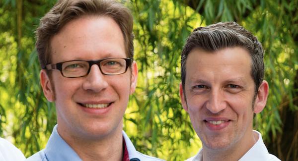 Florian Berghausen und Tobias Schütt