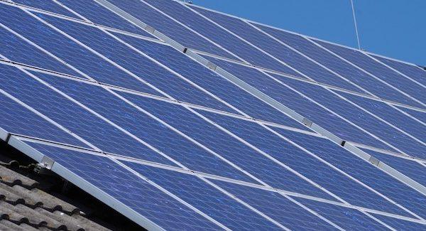 Solaranlage auf Eigenheim