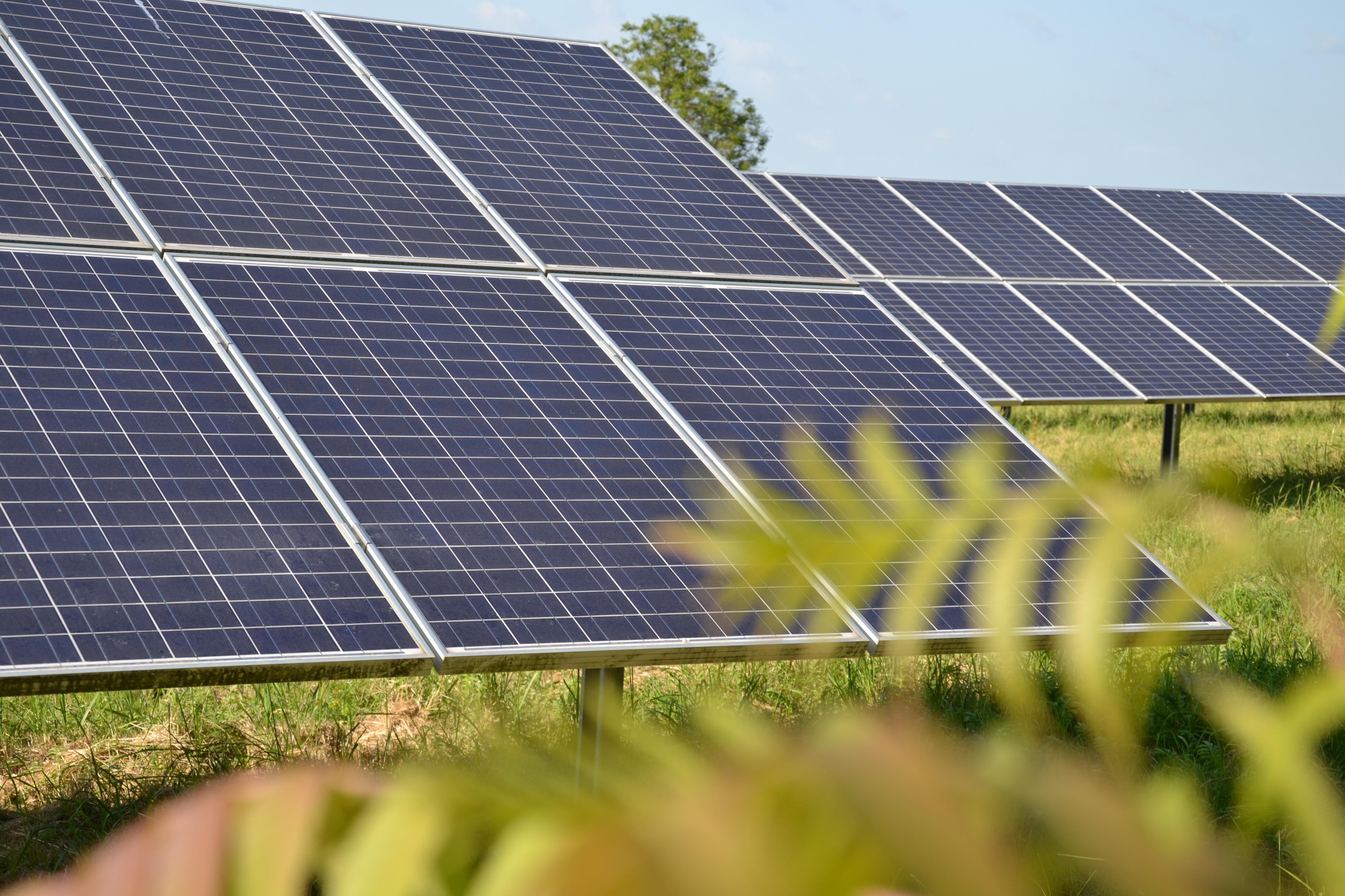 Solarpark Langenbogen bei Halle (Saale)