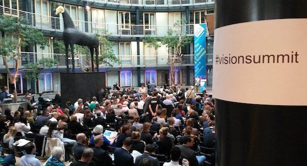 Econeers auf dem Vision Summit 2014 in Berlin