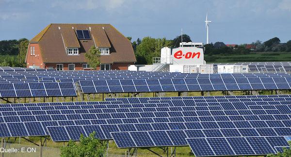 E.ON Solaranlage in Pellworm