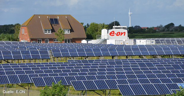 E.ON Solaranlage in Pellworm