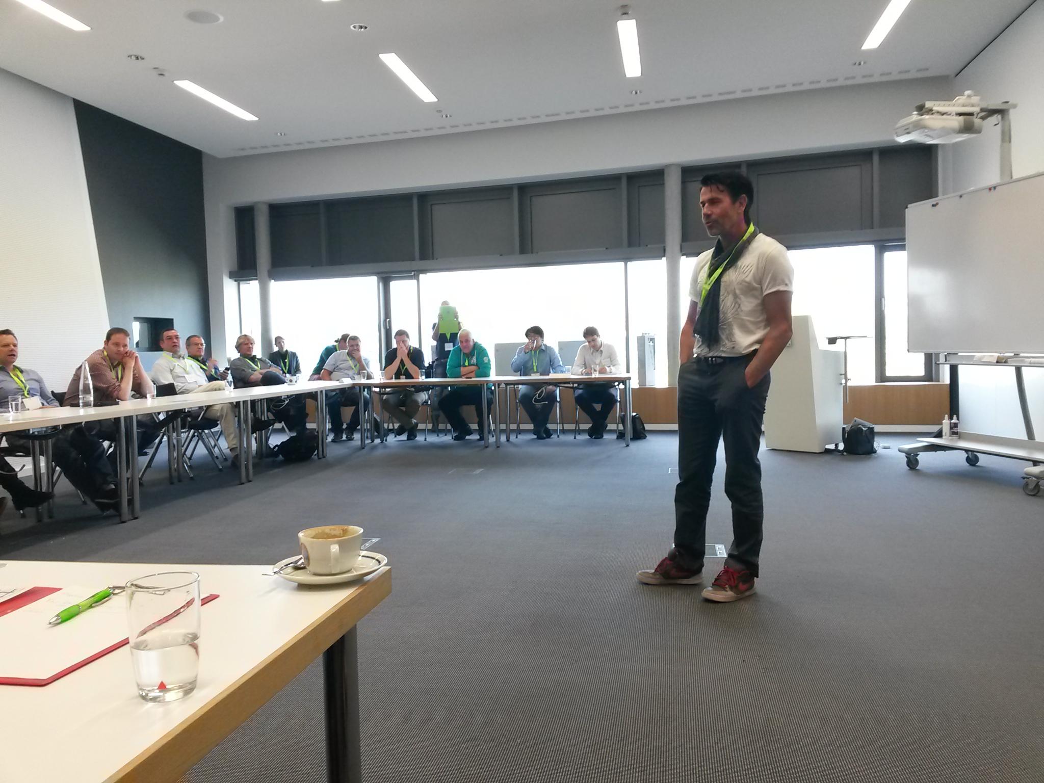 Session mit Energiewende-Visionär Matthias Willenbacher
