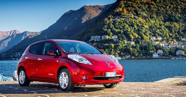 Titelbild: Das meistverkaufte Elektroauto der Welt: der Nissan Leaf. © Nissan